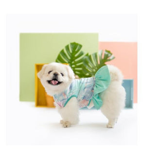 Ohpopdog Aloha Top Dress Dog Apparel