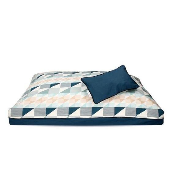 DreamCastle Natural Dog Bed (Blue Haven)