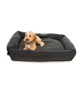 FuzzYard The Lounge (Charcoal) Dog Bed