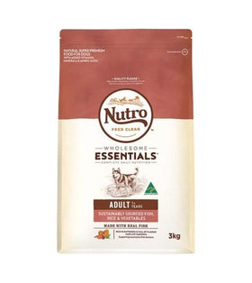 Nutro Wholesome Essentials Sustainably Sourced Fish, Rice & Vegetables Adult Dry Dog Food