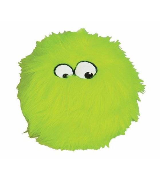 goDog Lime Furballz with Chew Guard Technology Dog Toy