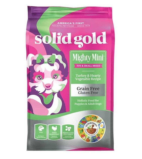 35% OFF: Solid Gold Mighty Mini (Turkey & Hearty Vegetable) Dry Dog Food