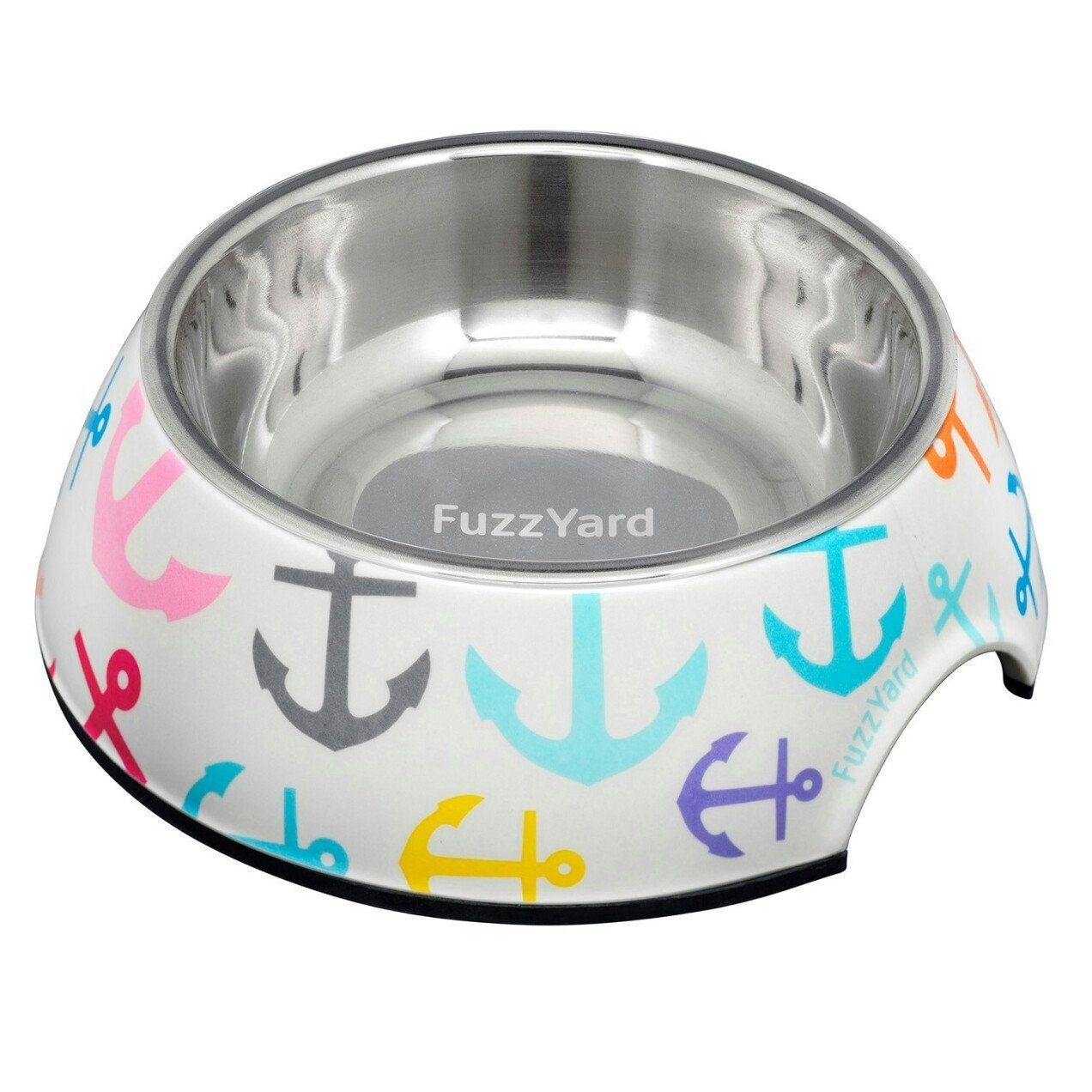 15% OFF: FuzzYard Ahoy! Melamine Dog Feeding Bowl
