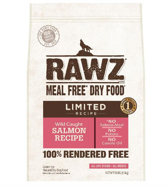 Rawz Meal Free (Limited Recipe) Wild Caught Salmon Dry Dog Food