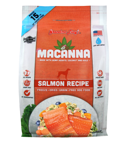 Grandma Lucy's Macanna Freeze Dried Salmon Recipe Dog Food