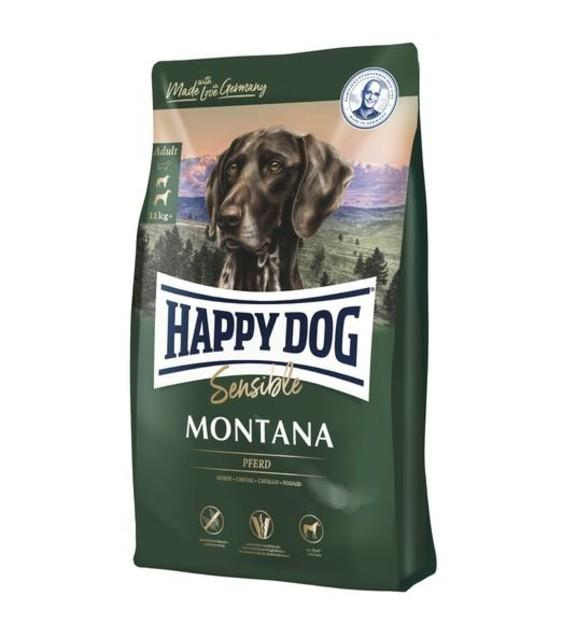 10% OFF: Happy Dog SENSIBLE Montana Horse Grain-Free Dry Dog Food