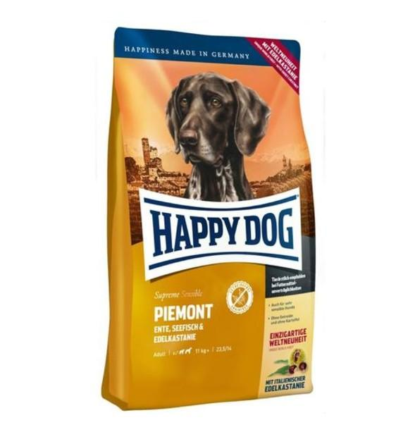 10% OFF: Happy Dog SENSIBLE Piemonte Duck, Seafish & Sweet Chestnut Grain Free Dry Dog Food