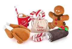 10% OFF [SAVER BUNDLE]: P.L.A.Y. Eco-Friendly Holiday Classic Dog Toys