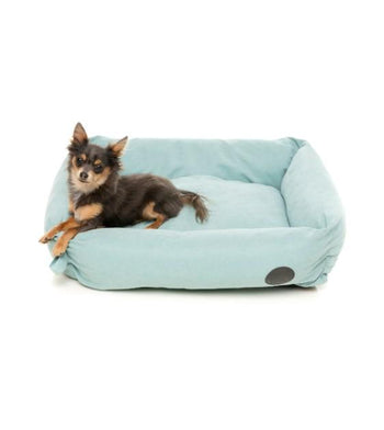 FuzzYard The Lounge (Powder Blue) Dog Bed