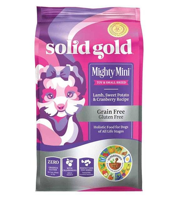 35% OFF: Solid Gold Mighty Mini Grain Free (Lamb, Sweet Potato & Cranberry) Dry Dog Food