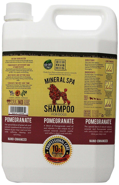 Reliq Mineral Spa Dog Pomegranate Shampoo (2 Sizes)