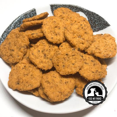 Feed My Paws Salmon Chips Cat & Dog Treats