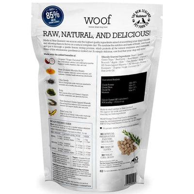 30% OFF + FREE 50G: WOOF Freeze Dried Raw Beef Dog Food