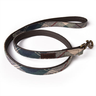 Land Rover Barbour Leather Dog Leash
