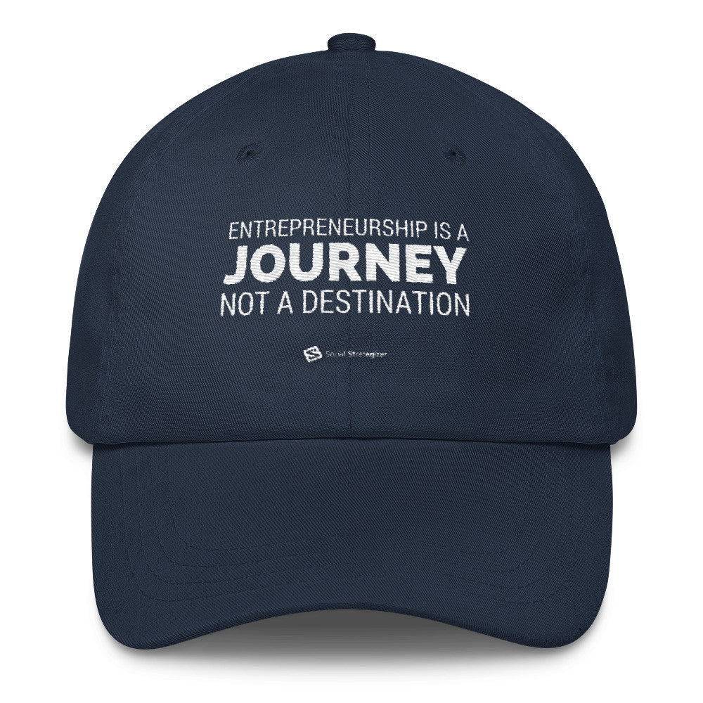 ENTREPRENEURSHIP IS A JOURNEY Classic Dad Cap