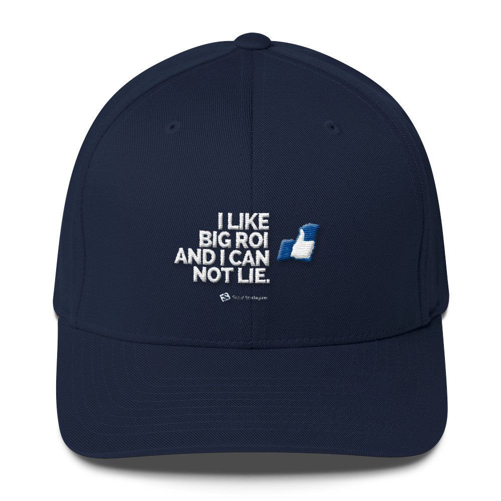 I LIKE BIG ROI - Flexfit Structured Twill Cap