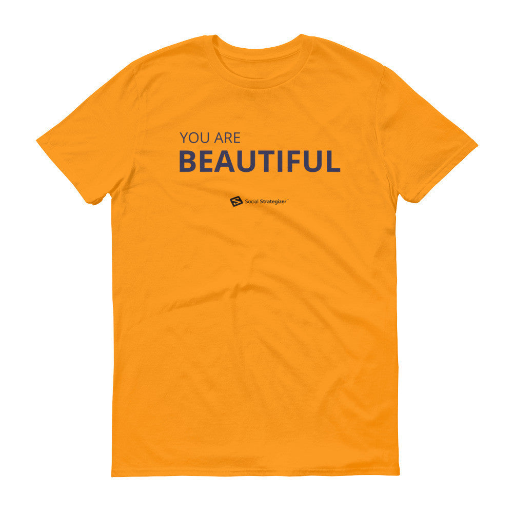 YOU ARE BEAUTIFUL Short sleeve t-shirt