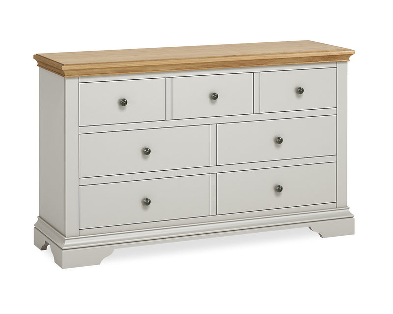 Ivy Oak 3 Over 4 Chest of Drawers