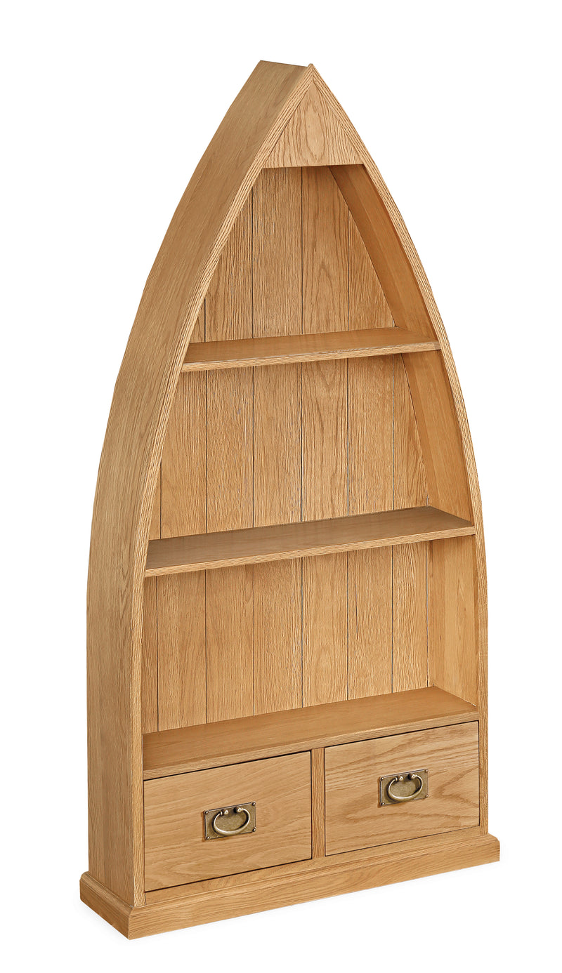Alpine Oak Boat Bookcase