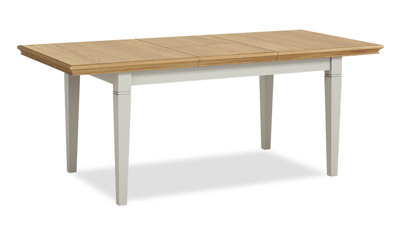 Ivy Oak Compact Butterfly Extending Dining Table