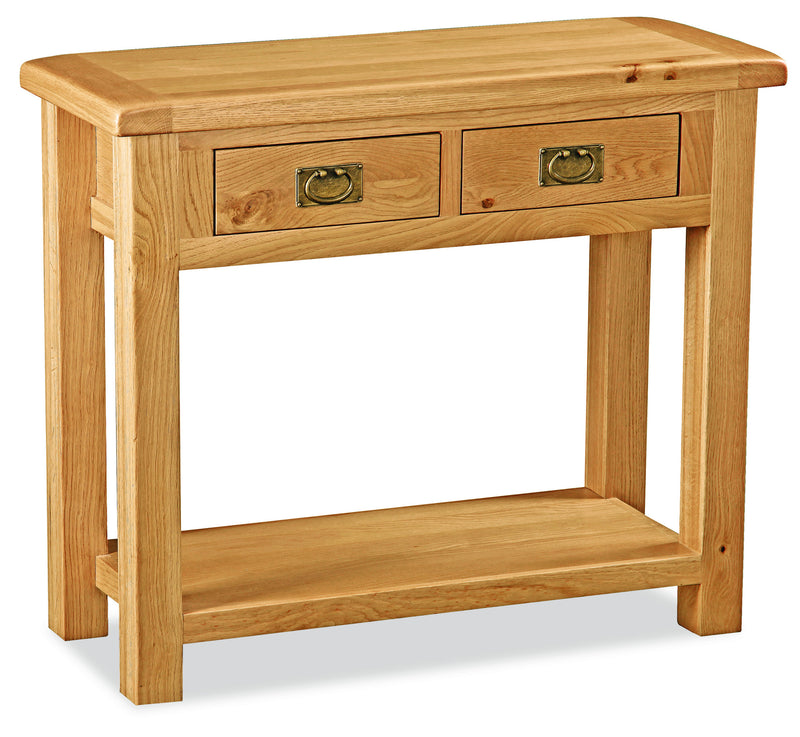 Alpine Oak Console Table