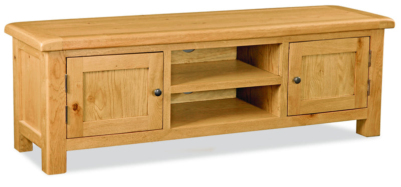 Alpine Oak Extra-Large TV Unit