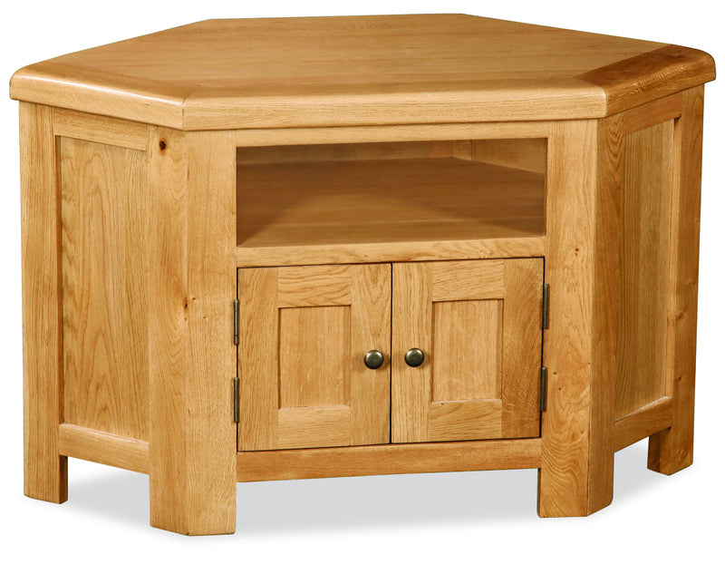 Alpine Oak Corner TV Unit