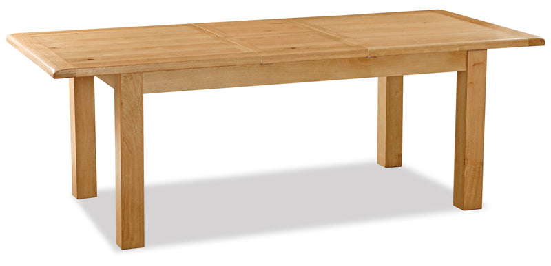 Alpine Oak Large Butterfly Extending Table