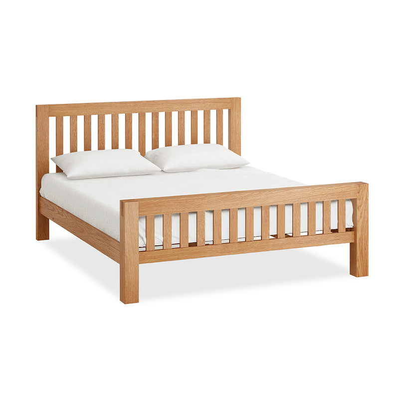 Laurel Oak 6' Slatted Bed