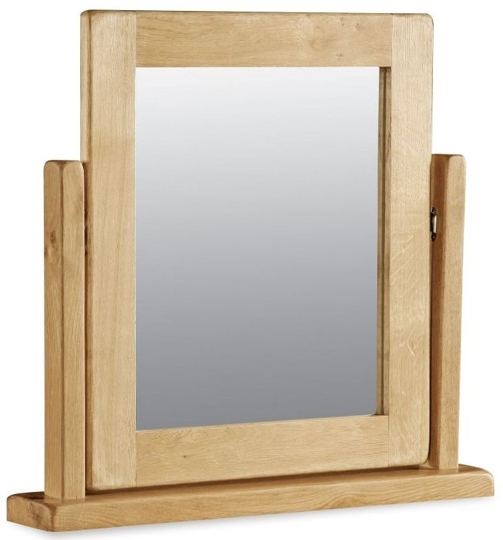 Alpine Oak Vanity Mirror