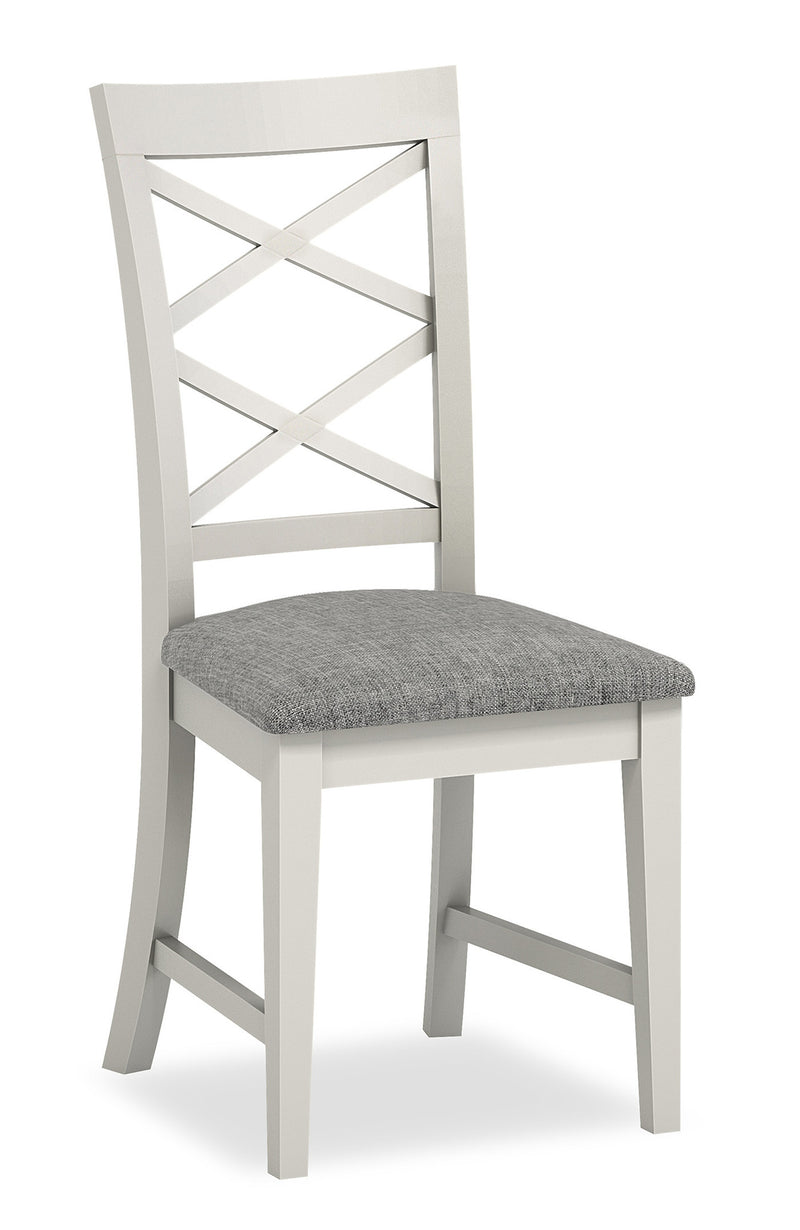 Ivy Oak Cross Back Dining Chair
