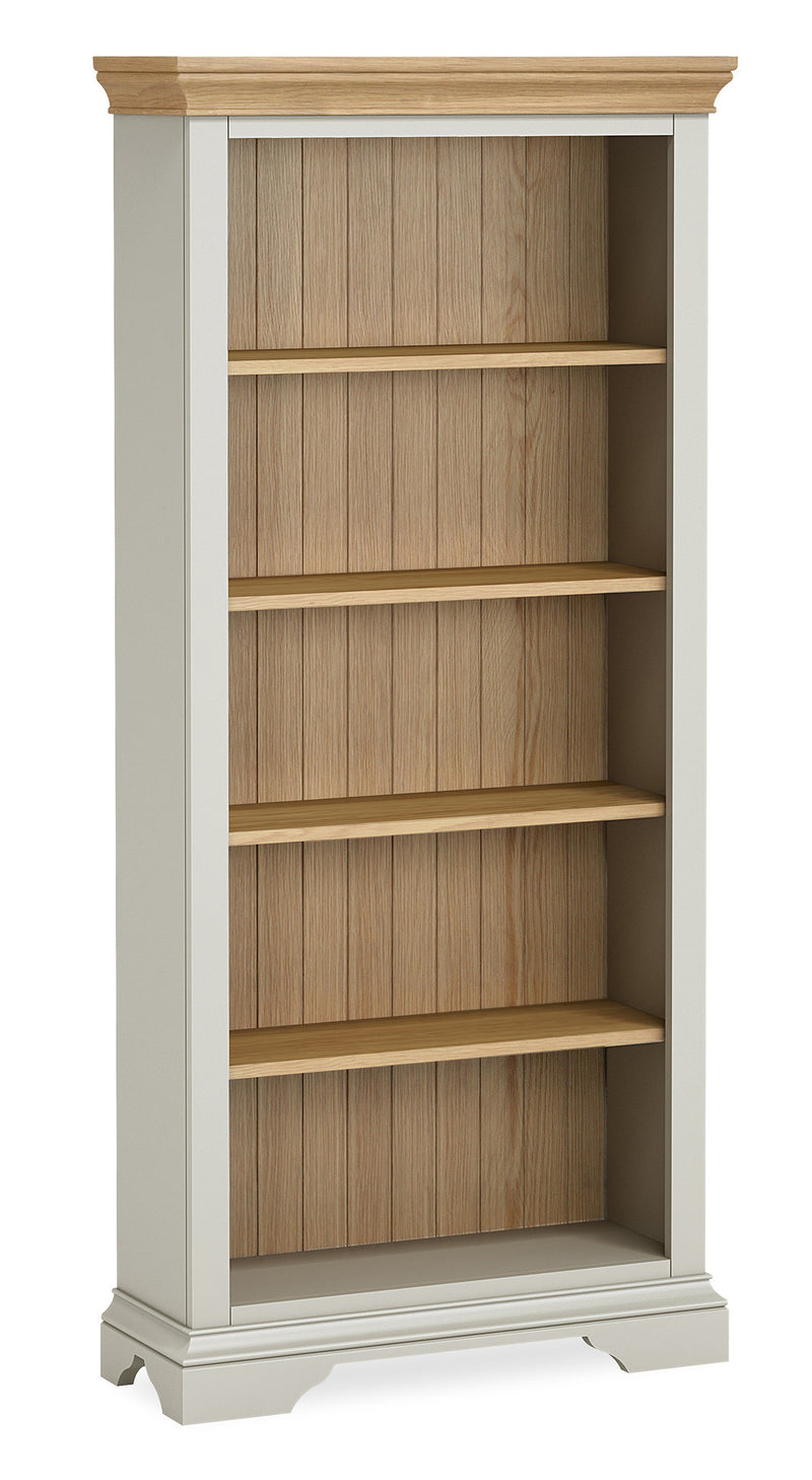 Ivy Oak Large Bookcase