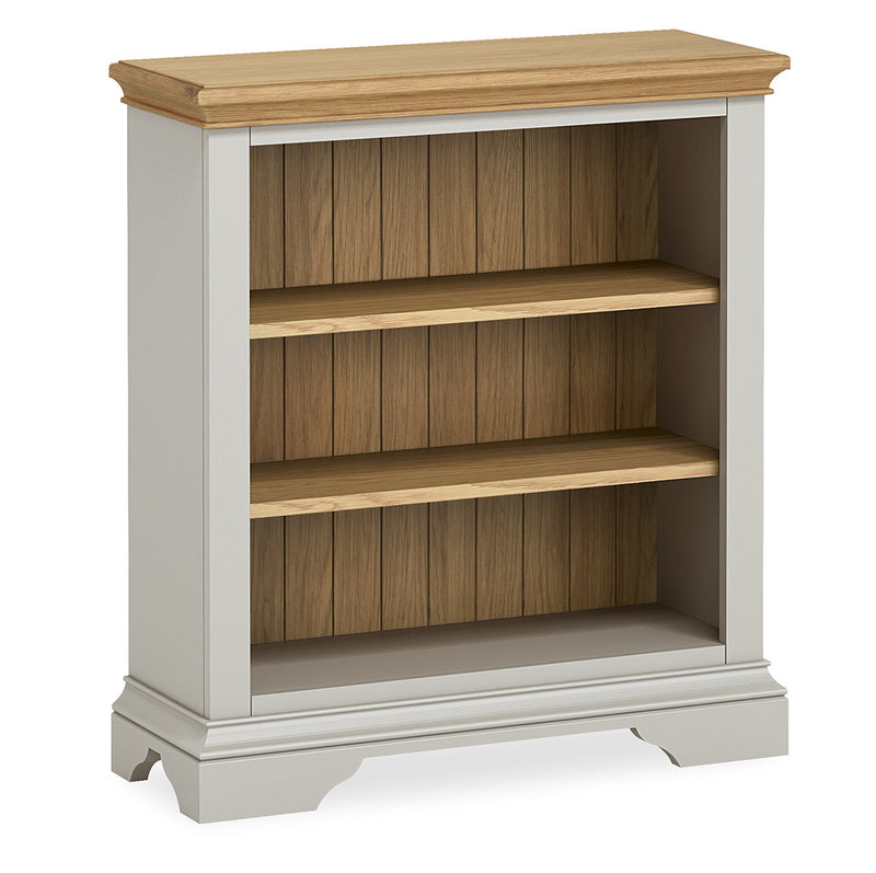 Ivy Oak Low Bookcase