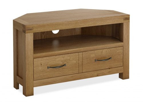 Laurel Oak Corner TV Unit