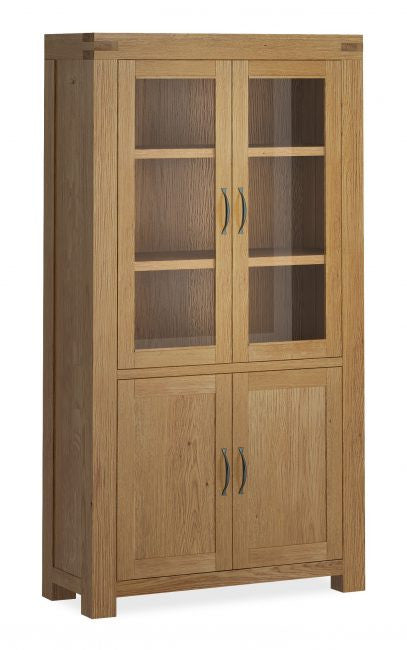 Laurel Oak Display Cabinet