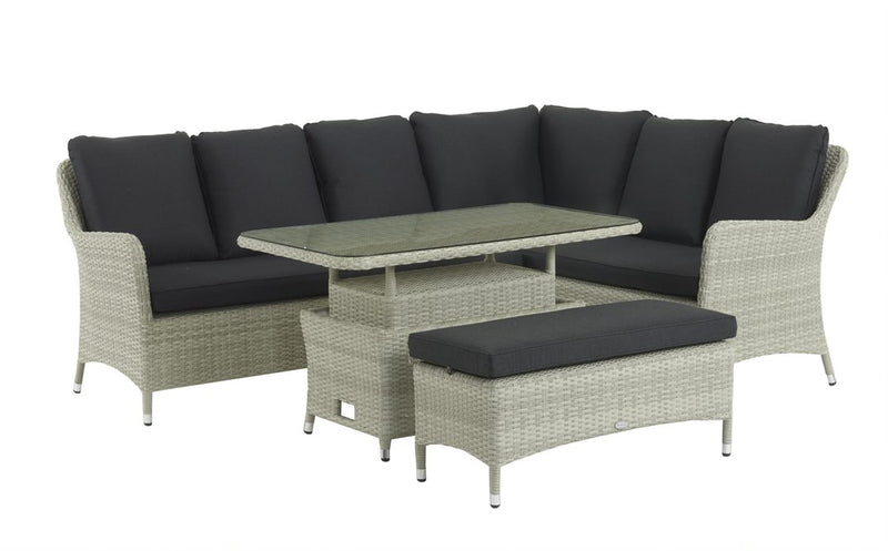 Portobello modular sofa with rectangular table