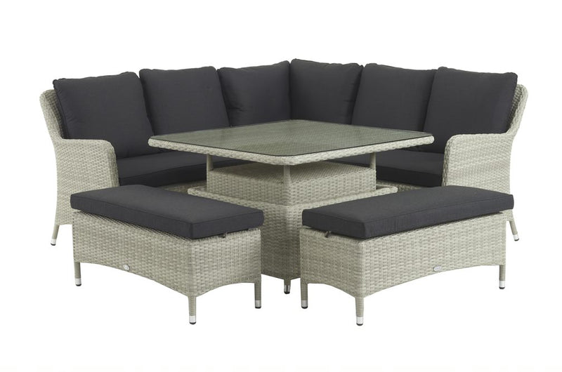 Portobello modular sofa with square table