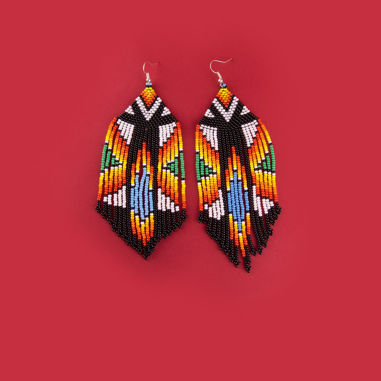 Astral Feather Earrings