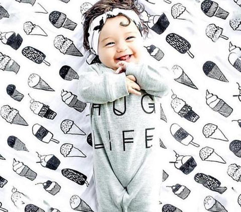 Hug Life Long Sleeve Romper Jumpsuit