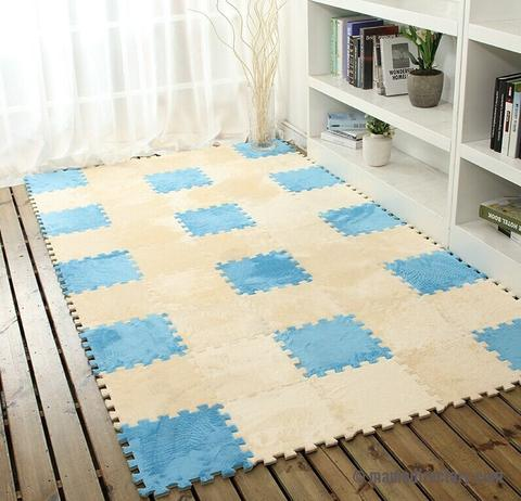 DIY magic Jigsaw 30*30CM soft patchwork slip-resistant puzzle baby mat