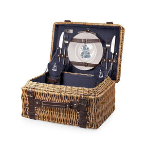 Beauty & the Beast - 'Champion' Picnic Basket (Navy)
