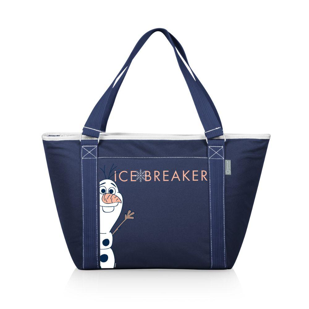 Topanga Cooler Tote - Frozen Olaf (Navy)_Heat Transfer