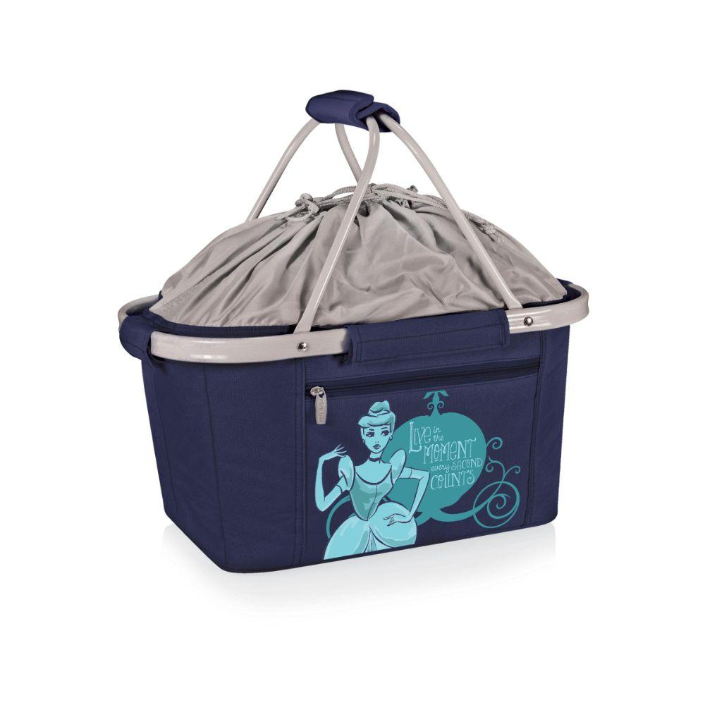 Cinderella - 'Metro Basket' Collapsible Cooler Tote (Navy)