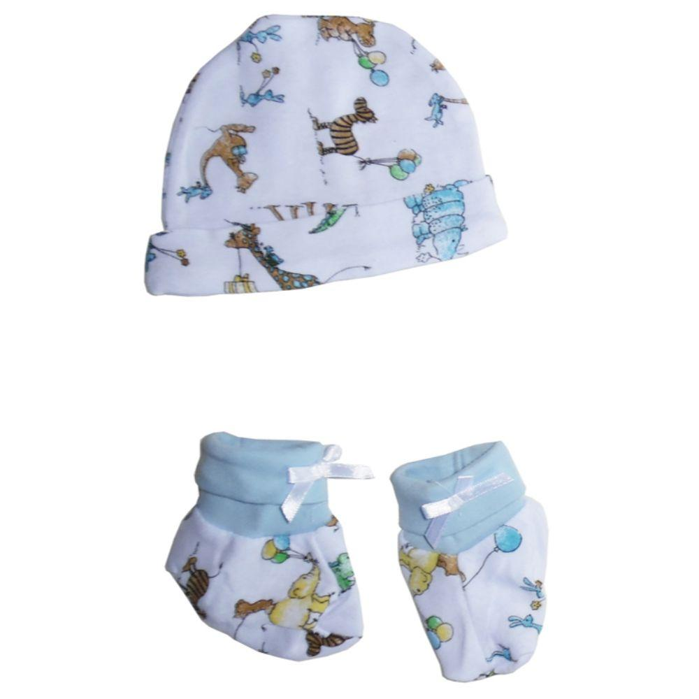 Baby Cap and Bootie Set One Size