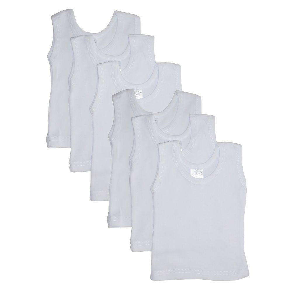 White Tank Top 6 Pack