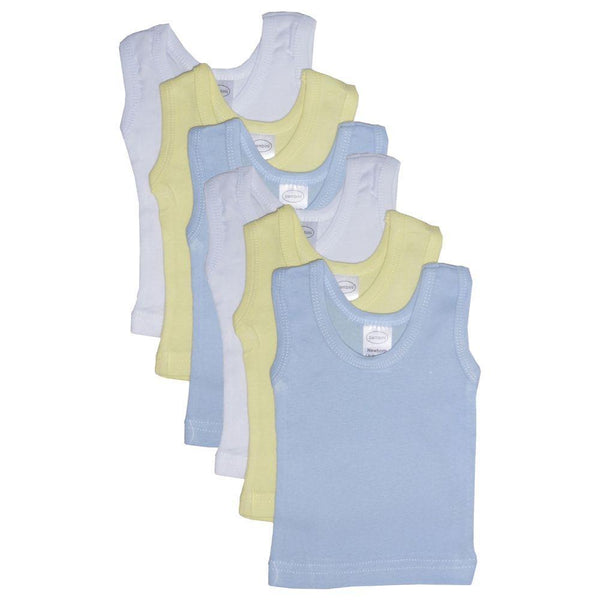 Boys' Six Pack Pastel Tank Top