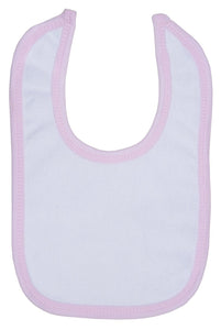 Terry Bib with Trim One Size
