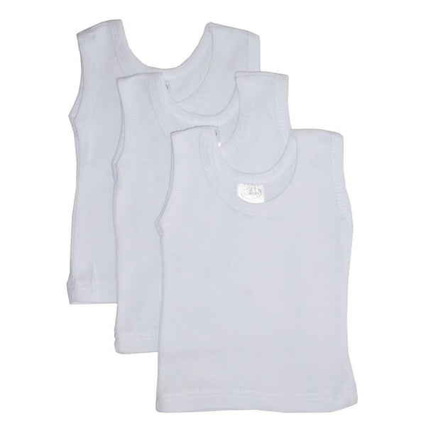 White Tank Top 3 Pack