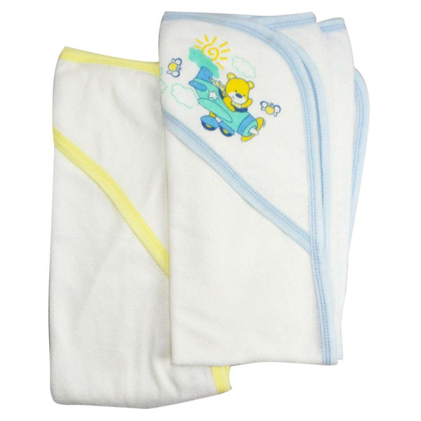 Infant Hooded Bath Towel (Pack of 2) One Size