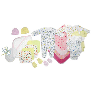 Newborn Baby Girls 21 Pc Layette Baby Shower Gift Set
